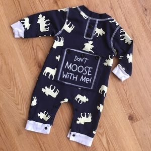 Baby Don't Moose With Me Outfit